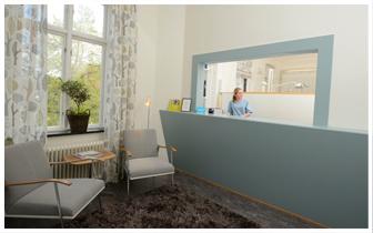 Tandläkarens reception